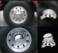 Premium Abs Semi Truck Wheel Covers On Sale Set Of 6 2