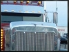 Peterbilt 379 Bug Deflector | Extended Hood | 1993 to 2007 | Semi Truck Bug Deflector | 32 Chrome Shop Inc.