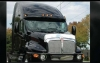 Kenworth T2000 Bug Deflector | Semi Truck Bug Deflector | 32 Chrome Shop Inc.