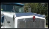 Kenworth T800 Bug Deflector | Wide Hood Bug Deflector | 2007 to 2011 | Semi Truck Bug Deflector | 32 Chrome Shop Inc.
