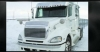 Freightliner Columbia Bug Deflector | Semi Truck Bug Deflector | 32 Chrome Shop Inc.