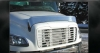 Freightliner M2 Bug Deflector | Freightliner 100 Bug Deflector | Freightliner 106 Bug Deflector | Freightliner Business Class Bug Deflector | Semi Truck Bug Deflector | 32 Chrome Shop Inc.