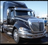 International ProStar Bug Deflector | Semi Truck Bug Deflector | 32 Chrome Shop Inc.