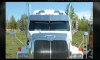 Western Star Constellation Bug Deflector | Square Hood | Semi Truck Bug Deflector | 32 Chrome Shop Inc.