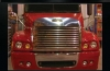 SEMI TRUCK GRILLE LOUVERED BUILT IN BUG DEFLECTOR10 BAR FREIGHTLINER CENTURY CLASS ( 2005 + )