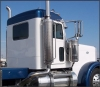 32 Semi Truck Extended Day Cab COMPLETE KIT - PREMIUM INTERIOR Peterbilt Flat Top. ( Must Have Unibilt Sleeper )